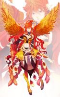 .:Fire_Phoenix Adoptable (CLOSED):. by CrestVyne