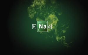 my name in Breaking Bad style by enad911