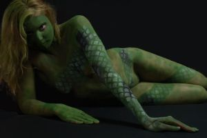 Serpent's Touch by BareBeautyBodypaint