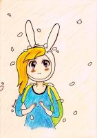 Fionna the Human by MartinHyuuga