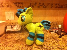 Striped Star Plush Commission by Sparkz8D
