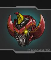Megazord - Head by ACivicDilemma