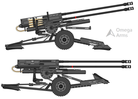 Omega IDR-X119 AA Flak Cannon by A-Traffic-Cone