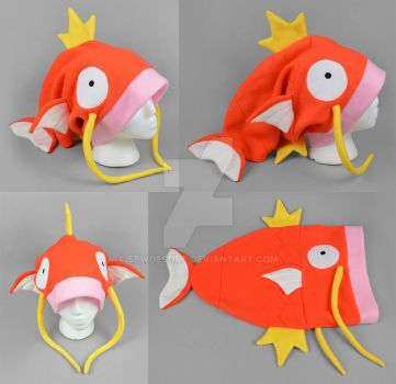 Slouchy Magikarp Hat by SewDesuNe