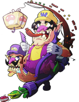 Wario and Waluigi by Pokekoks