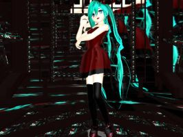 MMD Newcomer Rotten Girl Miku by buddy1o