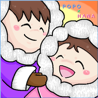 Popo and Nana by pupucha