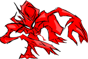 Red Monster by UnknownMisfit