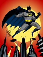 Happy Twenty Year Anniversary BATMAN THE ANIMATED by Drawrick