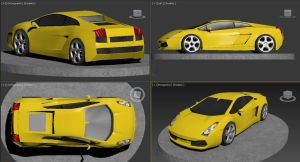 Lamborgini Gallardo 360 by Madame-Neon