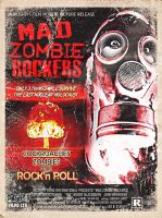 Mad Zombie Rockers IDP 04 by RadActPhoto