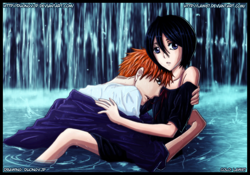 IchiRuki: In the water by Law67