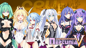 Neptunia V - Wallpaper 37 by karto1989