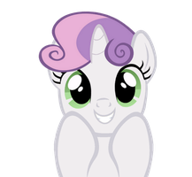 Super Cute Sweetie Belle by kuren247
