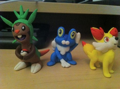 The 3 new starters =] by UniqueT