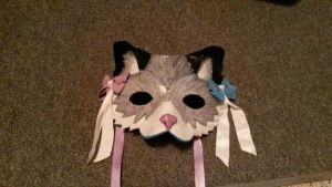 Snow Leopard Commission Mask by Lilliput1188