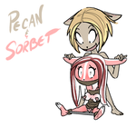 PecanSorbet1 by PawFeather