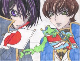 Code Geass: Good vs. Evil by ShinigamiDuoLover
