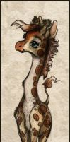 Baby Giraffe by helloheath