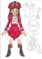 Pirate Dress Design Contest by animequeen20012003
