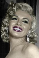 Marilyn the beauty by GreciaLondres