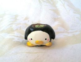 Penguin Planter Figure by PinkChocolate14