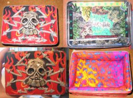skull stash tin for noah by sneakyfetusprod