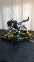 Wolf Link Sculpture by KatiesClayCreatures