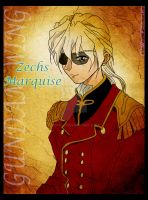 Gundam Wing - Zechs Marquise by Asphil