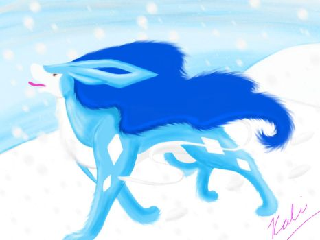 Catching Snowflakes by Kaligraphy22