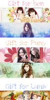 [Pack Cover] #3 Happy Brithday to my friends by jangkarin