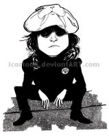 John Lennon by icartoon