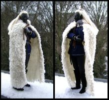 New Sheepskin Cloak by Siobhan68