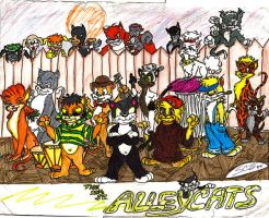 The 12th Street Alleycats by TreStyles