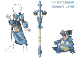 PSC- Nidoqueen by Lybra1022