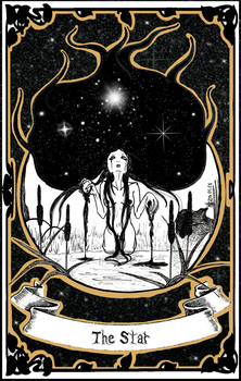 Tarot | XVII - The Star by LittleGoa-t