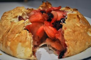 Blackberry and Apple Filo Pie by Kai--Photography