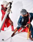 Dante and Vergil Cosplay :: Fight! by IKevinXSer