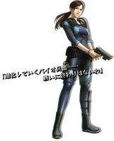 Project X Zone/Jill by Ace-Attorney-Favour