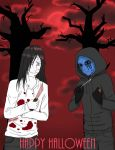 Eyeless Kabs And Oro The Killer by KabutoNosebleed