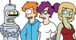 Futurama Kiddos by Futuramanerd