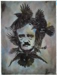 Edgar Allan Poe by JasonMas