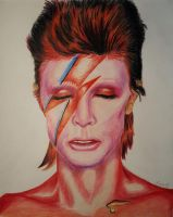 David Bowie by Gattsu88