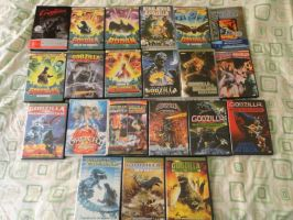 Godzilla Collection 2012 (Part 2) by GIGAN05