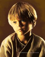 Young Anakin by vampirekingdom