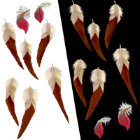 CLIP- Tribal Feathers by ArnaTornwolf