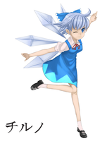 Character Painting - Paint 3 Cirno by HandsofMidaz