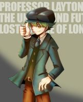 Big Luke from Professor Layton by jellyfishkingd