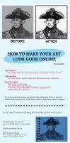 Make Art Look Good Online by Jon-Snow