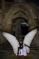 Angel Sanctuary by greenmindedred